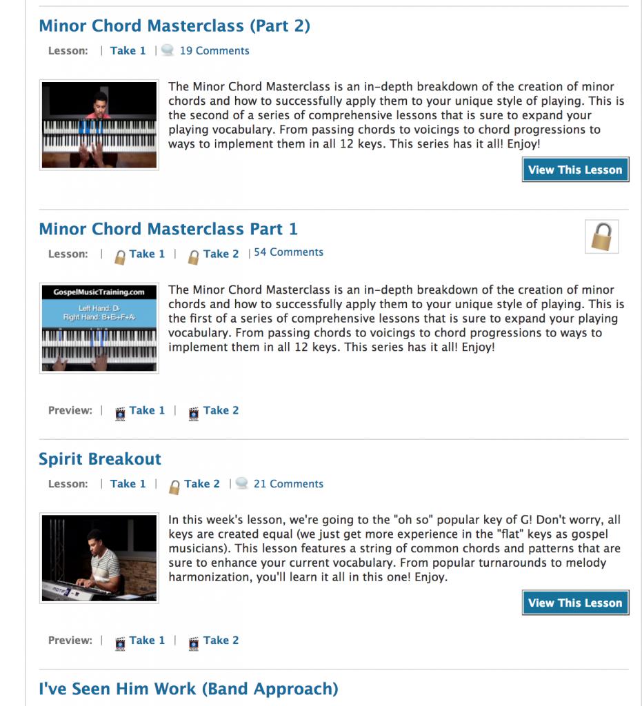 Gospel 10 Chords PDF Download |